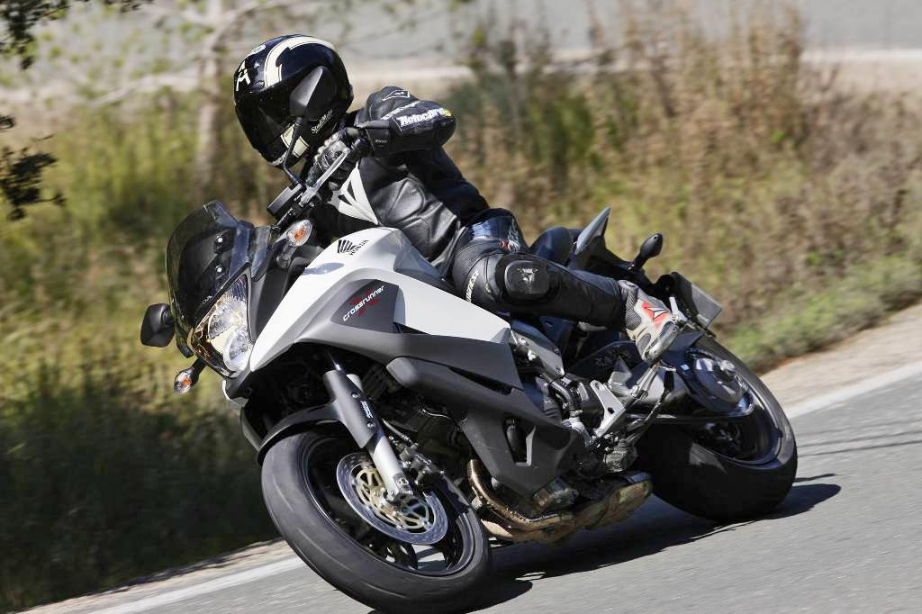 Prova Honda Crossrunner 800 2011 Safe Riders Scuola Guida Sicura