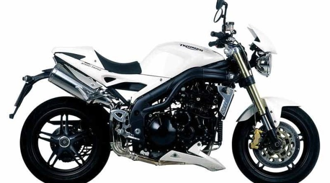 Prova Triumph Speed Triple 1050 2010