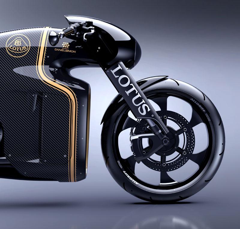 C-01: ecco la prima moto firmata Lotus