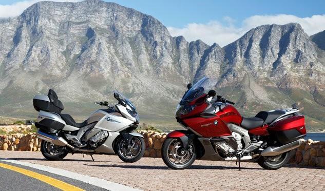 Prova BMW K1600GT & K1600GTL 2013