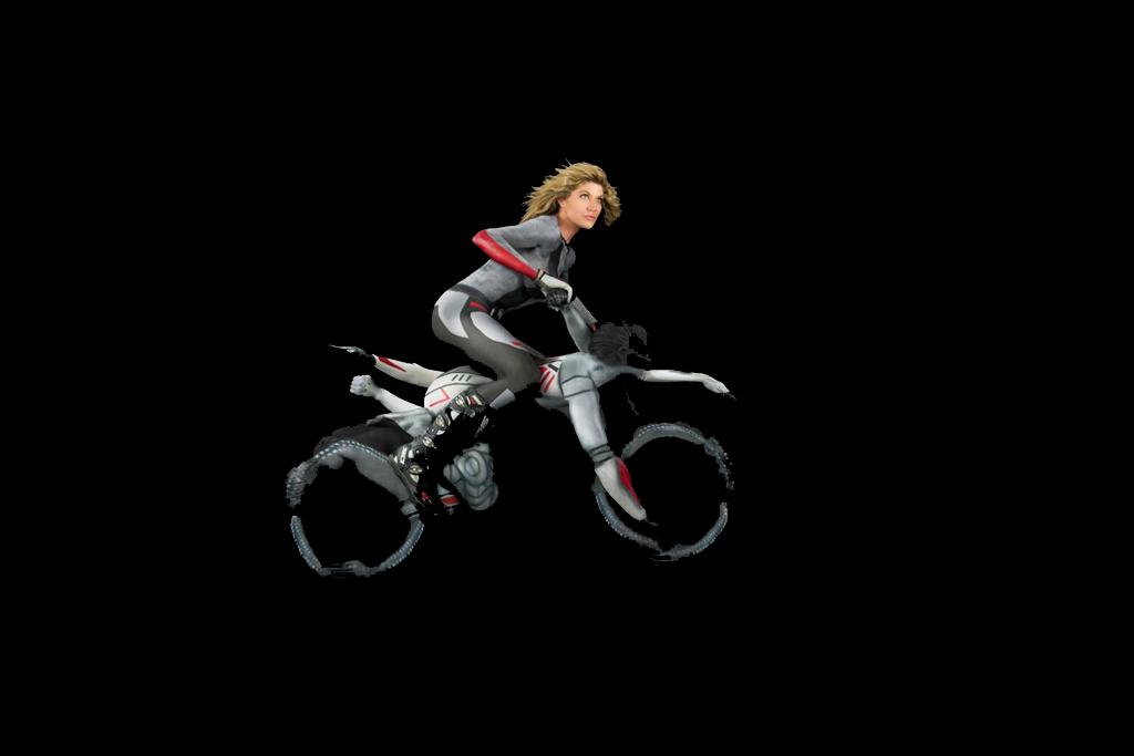 La moto ed il corpo