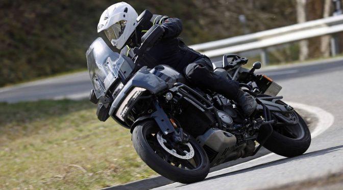 Prova su strada della Harley-Davidson Pan America Special 2021